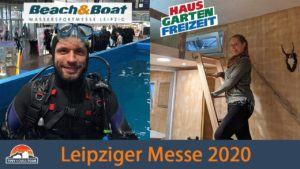 Messe Leipzig 2020 - Tiny House & Houseboats! Home-Garden-Leisure + Beach & Boat | TINY HOUSE TOUR