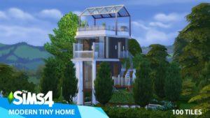 Moderní malý domov The Sims 4