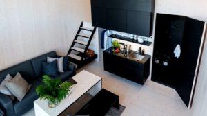 Montovaný malý dům 25m2 / 269sqft - prototyp Koda