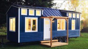 Nádherný krásný kadence malý dům na kolečkách ručně hnutí   Malý dům velké bydlení