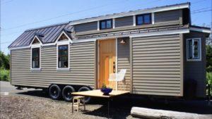 Nádherný ohromující dům Kootenay Tiny na kolečkách od TruForm Tiny Malý dům velké bydlení