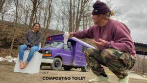 NAŠE 30 $ pro kutilské kompostování TINY HOUSE / VAN LIFE TOILET HACK