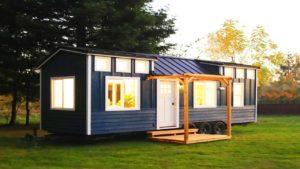 Naprosto krásný kadence malý dům na kolečkách ručně hnutí Nádherný malý dům