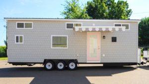 Nejluxusnější útěk Tiny House od společnosti Tiny House Building Company Nádherný malý dům