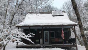 Offgrid Cabin Time - Drobný dům - Střecha Stodola Povrchová úprava