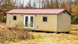 Ohromující 308 Sq Ft Remodeled Tiny House - připraven k pohybu a nastěhování! Nádherný malý dům