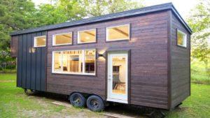 Ohromující přírodní moderní 26ft malý dům od Made Relative Nádherný malý dům