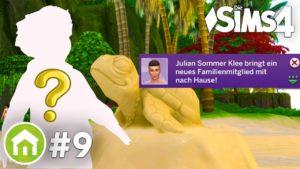 PŘIJETÍ! 🌴👨👨👦 Nový člen rodiny   Pojďme si zahrát Die Sims 4 Tiny Houses Pack # 9 (německy)