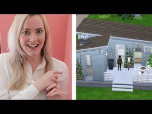 Postavte malý dům v Simsu