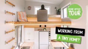 Pracujete z domu v malém domě?