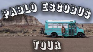 Prohlídka autobusu Tiny House - Pablo Escobus