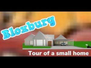 Prohlídka malého domu (bloxburg)