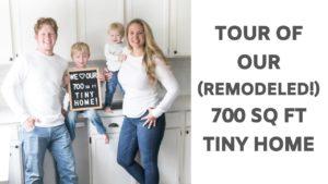 Prohlídka našeho 700 čtverečních stop malého domu
