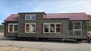 Rustikální krásný chatkový domek od Alabamy Custom Cabins   Le Tuan Home Design