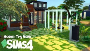 Rychlost moderního domu Tiny Home v The Sims 4