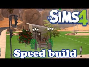 SIMS 4 SPEED BUILD: TINY HOUSE CHALLENGE
