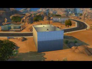 Stavba malého domu v The Sims 4 Pt.1