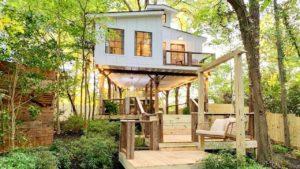 Stylový stromeček Airbnb se zvedl nad malou domovskou vesnicí East Point | Viet Anh Design Home