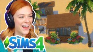 Svobodná dívka staví svůj sen Karanténa Drobný domov v The Sims 4