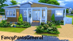 TINY HOME BIG YARD   Speed Build   The Sims 4