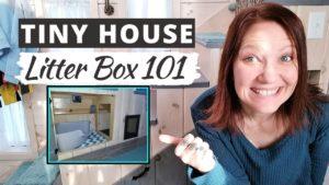 TINY HOUSE LITTER BOX 101 Kreativní úložný prostor pro malé bedničky s odpadky