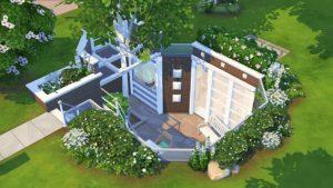 TINY MODERNÍ PODLAHOVÝ DŮM 💙 | The Sims 4 | Rychlost sestavení