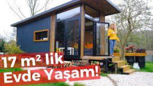 Tento moderní dům o rozloze 17 m² (malý dům) vám vyhodí vaši mysl!