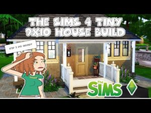 The Sims 4 Tiny House Build 9x10
