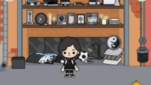 Toca Life World - černobílý malý dům