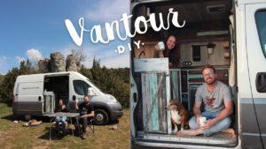 VAN TOUR│Camperization Fiat Ducato│DIY TINY HOUSE