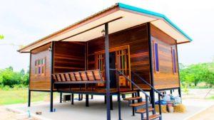 Velmi levný úžasný ohromující dřevěný domek z malého domova z Thajska | Le Tuan Home Design
