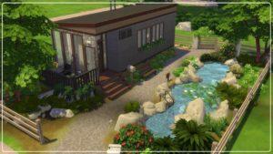 Základní hra Tiny House I Hemingway I The Sims 4 I Speed Build