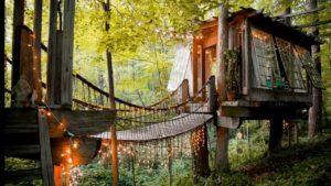 """Zůstaňte v malém domě na stromech ve společnosti Airbnb č. 1 """"Nejžádanější po celém světě!"""""""