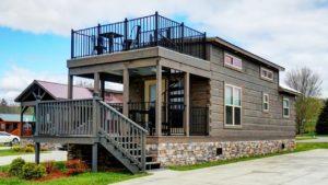 Úžasná krásná nízkopodlažní chalupa na prodej v chatkách Green River | Malý dům velké bydlení