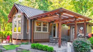 Úžasná krásná postavená chalupa s 5 lůžky od Wildwood | Malý dům velké bydlení