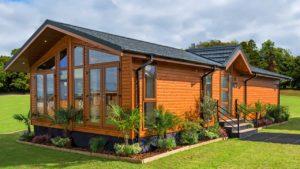 Úžasné luxusní Warreners Lodge dělá pro vynikající dovolenou útočit Malý dům velké bydlení