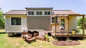 Úžasný krásný malý dům na kolech   Za poznáním malého domu