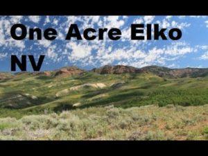 1.1 Acre Elko NV Pozemek mimo síť Tiny House RV Van OK - pouhých 5 minut od letiště Casinos Walmart