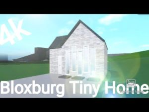 4k Bloxburg Tiny Home!