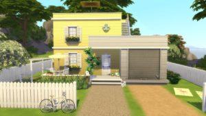 8 SIM TINY HOUSE | The Sims 4 | Rychlost sestavení
