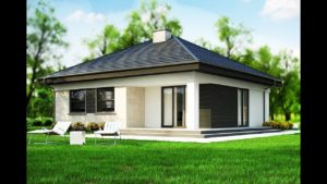 (99m²) Jednopatrový, tradiční dům v dřevěné konstrukci, nápady na malý domek