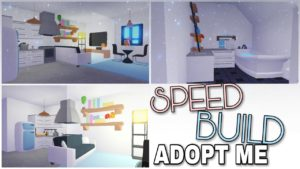 ADOPT ME - Speed Build | Tiny House Speed Build - Value 1K