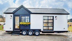 Absolutně nádherný Allswell malý domek moderním drobným životem Za poznáním malého domu