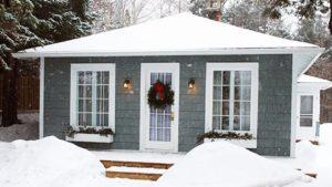 Absolutně prostorný bungalov se 2 ložnicemi Malý dům velké bydlení