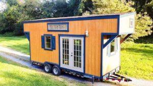 BAY BREEZE Krásně vytvořený malý domov Životní Design Pro Malý Dům