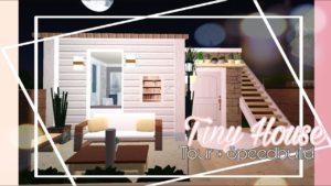 BLOXBURG l TINY HOUSE TOUR + Speedbuild l dani sims