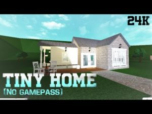 Bloxburg   Tiny Home   Speedbuild (Žádné gamepassy)