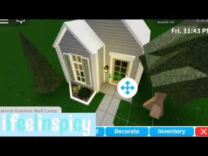 Blush malý dům (10k) Bloxburg dům stavět