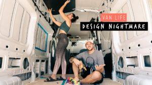 DĚTSKÝ DĚTSKÝ DŮM Design NIGHTMARE během PANDEMIC   Self Convertted Van