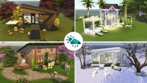 DĚTSKÝ DŮM NA KAŽDOU SEZÓNU ROKU Sims 4 (Speed Build)